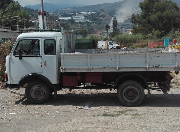 7#3575 Autocarro Fiat OM 40 con cassone ribaltabile trilaterale