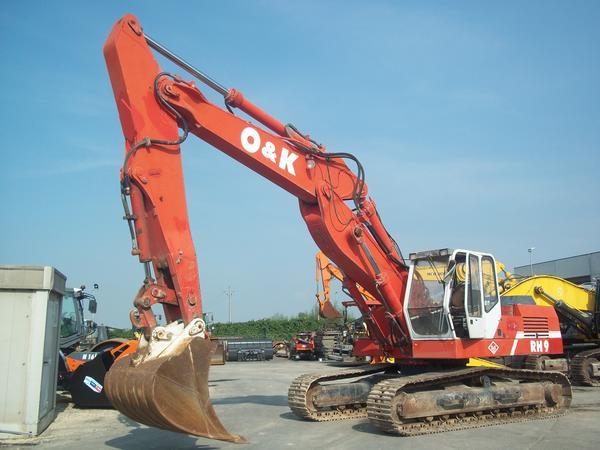 1#3576 Escavatore cingolato O&K RH9