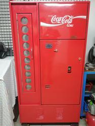 Distributore automatico Coca Cola originale anni 70 da collezione - Lotto 1 (Asta 3578)