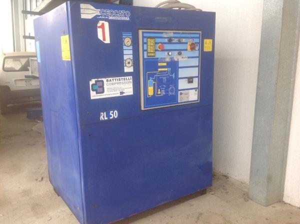 Immagine n. 2 - 1#3586 Compressore Ceccato RL 50