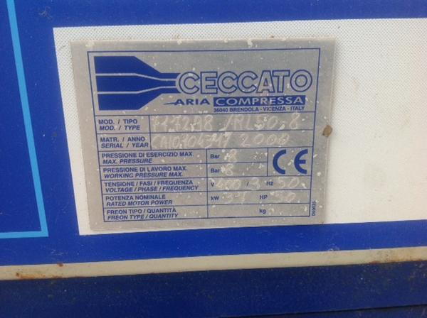 Immagine n. 3 - 1#3586 Compressore Ceccato RL 50