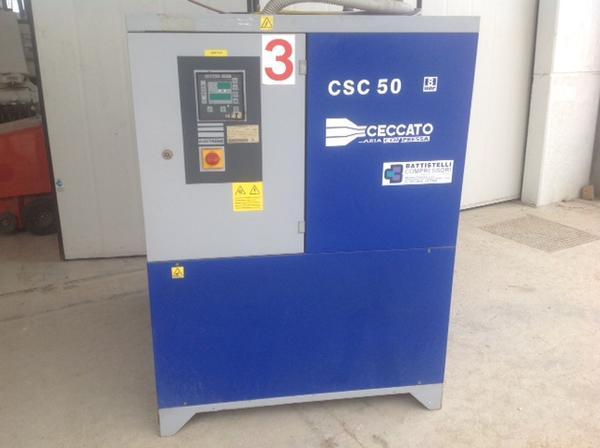 Immagine n. 1 - 3#3586 Compressore Ceccato CSC 50