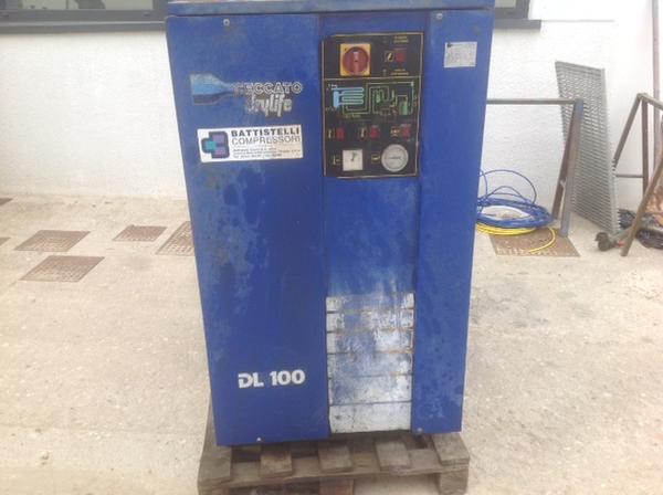 Immagine n. 1 - 4#3586 Compressore Ceccato DL100