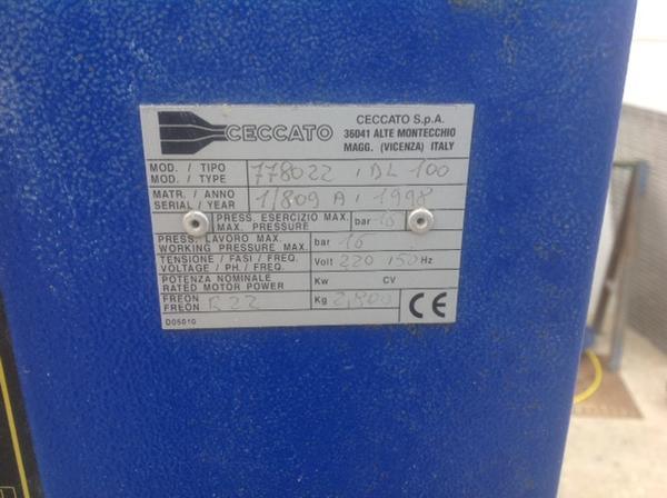 Immagine n. 2 - 4#3586 Compressore Ceccato DL100