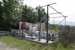 Platea in cemento con struttura - Lotto 20 (Asta 3589)