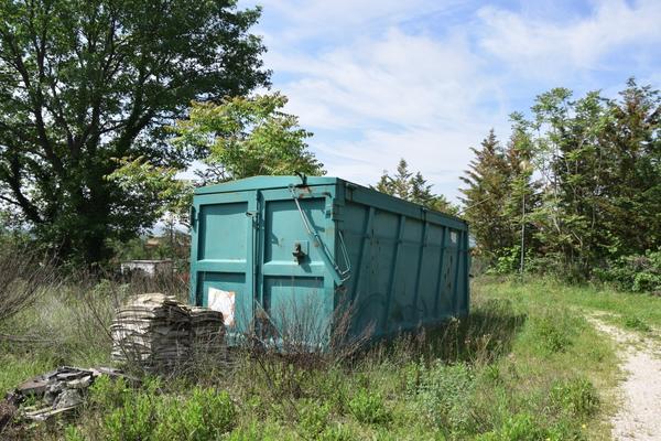 22#3589 Cassone per rifiuti