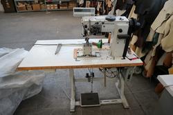 Banchi da lavoro Marim e macchine da cucire Durkopp - Lotto 34 (Asta 3594)