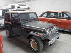 Jeep Wrangler truck - Lot 0 (Auction 3596)