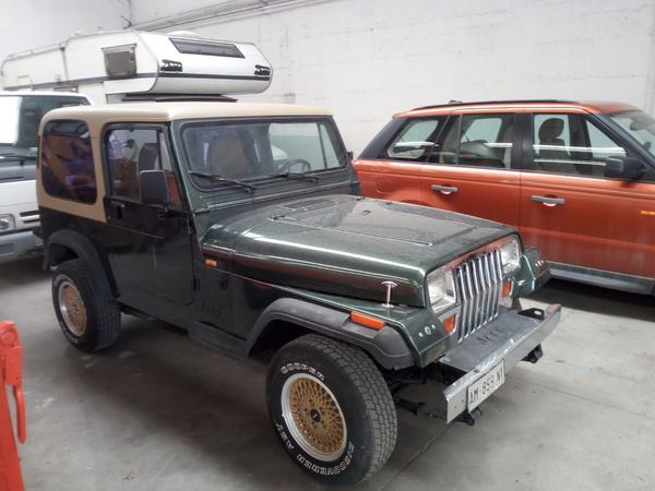 Immagine n. 1 - 1#3596 Autocarro Jeep Wrangler 4000cc