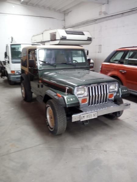 Immagine n. 3 - 1#3596 Autocarro Jeep Wrangler 4000cc