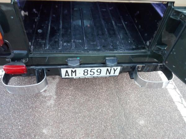 Immagine n. 11 - 1#3596 Autocarro Jeep Wrangler 4000cc