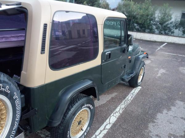 Immagine n. 12 - 1#3596 Autocarro Jeep Wrangler 4000cc