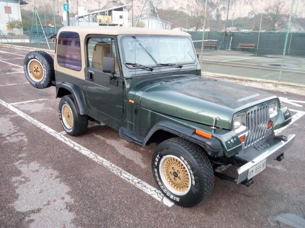 Immagine n. 14 - 1#3596 Autocarro Jeep Wrangler 4000cc