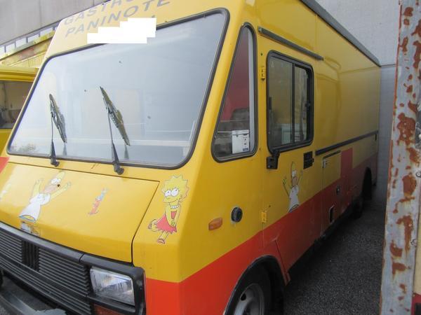 1#3603 Camion per cibo da strada