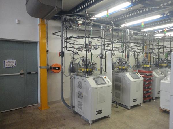 Immagine n. 2 - 1#3608 Macchine filatrici circolari automatiche