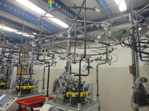 Immagine n. 23 - 1#3608 Macchine filatrici circolari automatiche