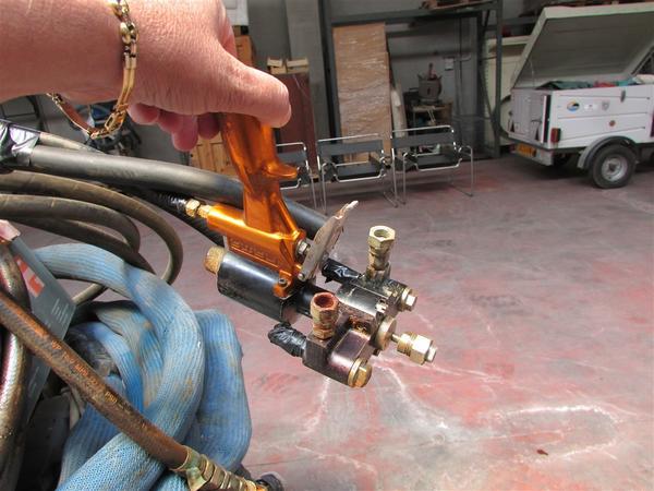 Immagine n. 7 - 1#3611 Apparecchio idraulico per spruzzo poliuretano