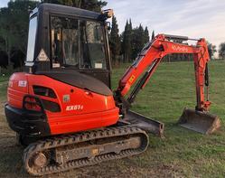 Kubota KX61 3 mini excavator - Lot 1 (Auction 3626)
