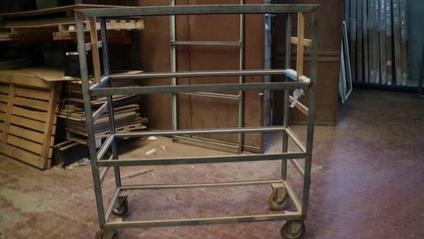 Immagine n. 8 - 18#3629 Carrelli e contenitori metallici