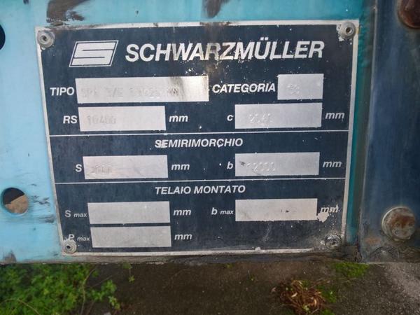 Immagine n. 6 - 47#3630 Semirimorchio telonato Schwarzmuller