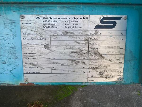 Immagine n. 7 - 47#3630 Semirimorchio telonato Schwarzmuller