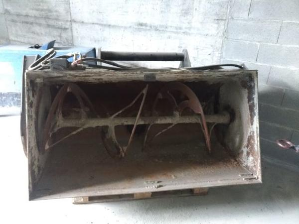 5#3635 Benna miscelatrice Metalmeccanica Moderna