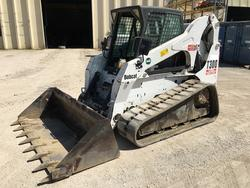 Bobcat T300 mini crawler loader - Lot 10 (Auction 3637)