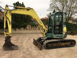 Yanmar Vio 55 Mini Excavator - Lote 22 (Subasta 3637)