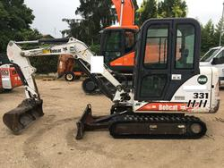 Mini escavatore Bobcat 331 - Lotto 5 (Asta 3637)