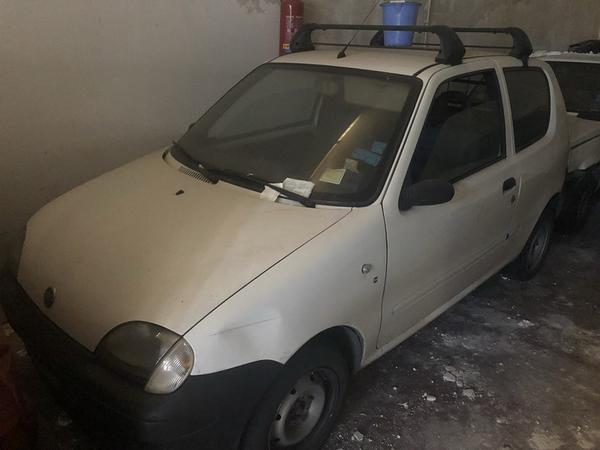 10#3645 Fiat Seicento Van