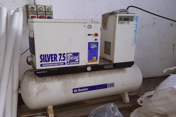 7 3646 compressore aria fiac silver frosinone lazio for Amazon gruppi elettrogeni