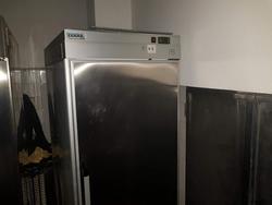 Steel fridge Teknaline - Lot 9 (Auction 3652)