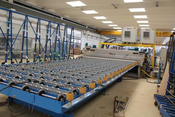 10#3669 Macchina lavatrice asciugatrice per lastre Triulzi