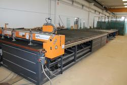 Glass cutting table API SRL - Lot 21 (Auction 3669)