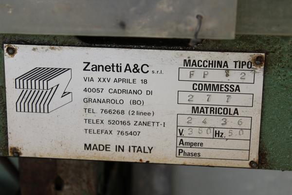 Immagine n. 4 - 34#3669 Molatrici Zanetti A & C