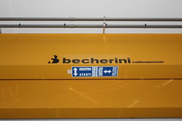 Immagine n. 3 - 38#3669 Gru a ponte Becherini Sollevamenti