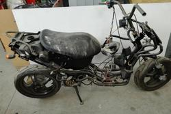 Yamaha Aerox 50cc motorcycle spare parts - Lot 38 (Auction 3672)