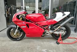 Ducati 888 SP4 motorcycle - Lot 6 (Auction 3672)