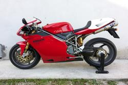 Ducati 996 motorcycle - Lot 7 (Auction 3672)