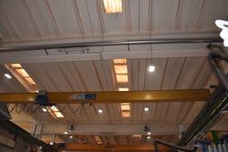 Samo single girder overhead travelling crane - Lot 15 (Auction 3676)