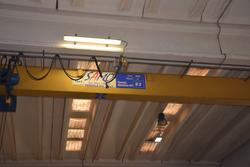 Blindo overhead crane - Lot 16 (Auction 3676)