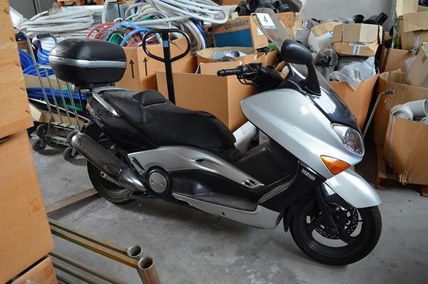 1#3691 Motociclo Yamaha Tmax