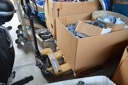 Pallet truck and scaffolding - Lote 7 (Subasta 3691)