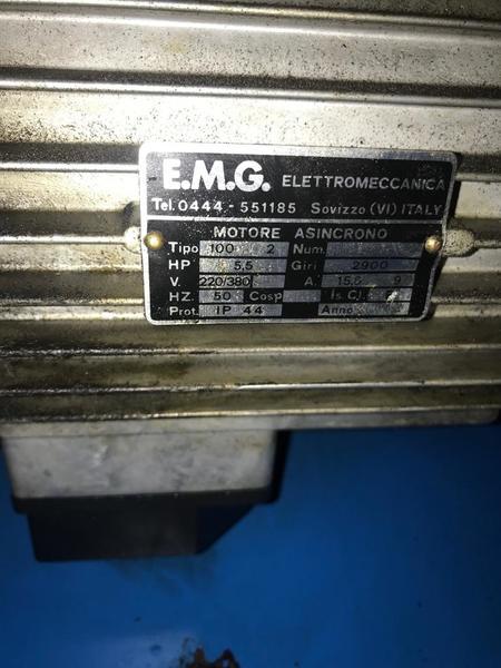 Immagine n. 5 - 11#3695 Compressore a pistoni Mark B5 SA