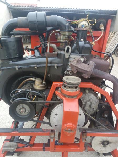 Immagine n. 4 - 19#3695 Motopompa carrellata Rampin Carlo MB300102R