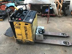 Hyster P 2 0S Man On Board Electric Pallet Truck - Lot 21 (Auction 3695)