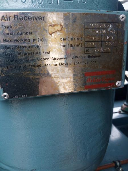 Immagine n. 11 - 3#3695 Compressore elettrico a vite silenziato Atlas Copco GA208