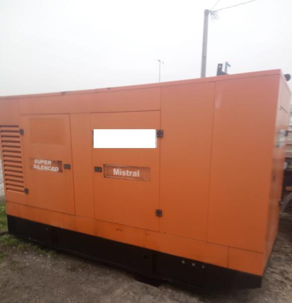 Immagine n. 1 - 33#3695 Generatore di corrente da 130 kva