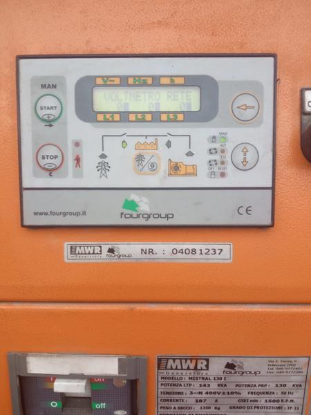 Immagine n. 6 - 33#3695 Generatore di corrente da 130 kva