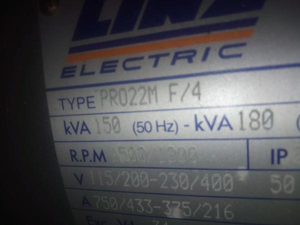 Immagine n. 7 - 33#3695 Generatore di corrente da 130 kva